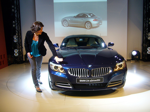 In 2009, BMW Z4 variant a Dynamic Drive Control, which offers the choice to